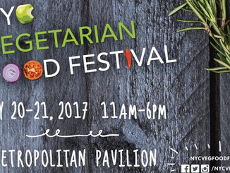 Coming Soon: NYC Vegetarian Food Festival!