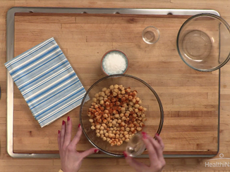 To Eat with Love: Spicy Roasted Chickpeas