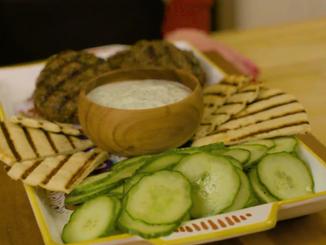 To Eat with Love: Moroccan Beef Kofta Patties with Yogurt Sauce!