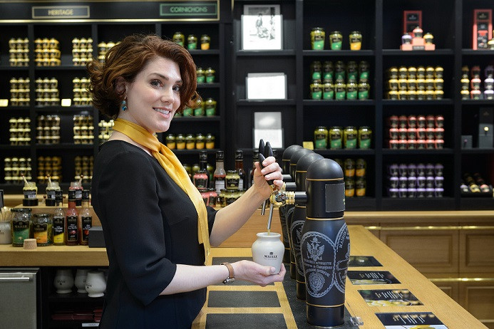 The Maille Boutique in New York - Tasting Event - Pierette Huttner - The Mustard