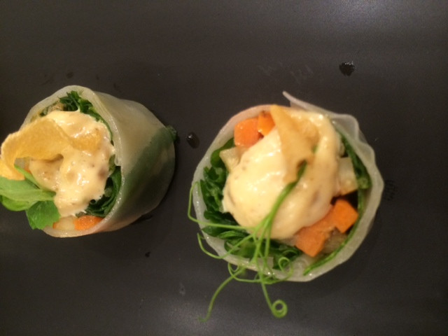 Maille Boutique  Spring Vegetable Roulade.JPG