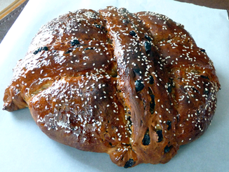 Greek Holiday Traditions-- Bread!
