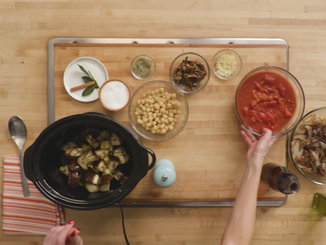 To Eat with Love: Eggplant Chickpea Stew