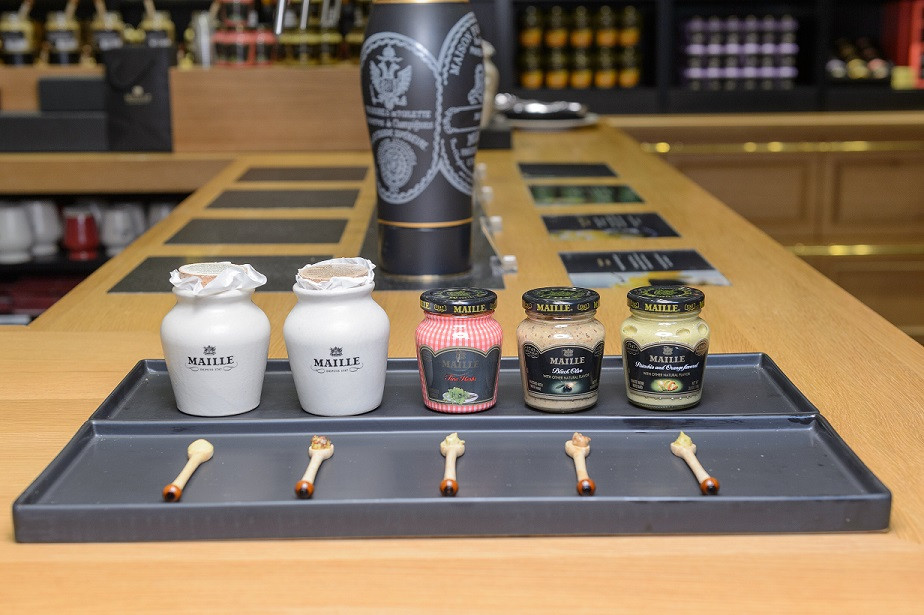 The Maille Boutique in New York - Tasting Event - The Mustards.jpg