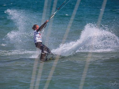 Kite dans les cordes