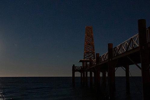 Panoramique Estacade sous la lune