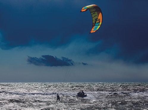 Kite entre ciel et mer