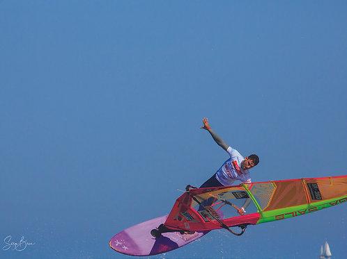 Saut wind surf