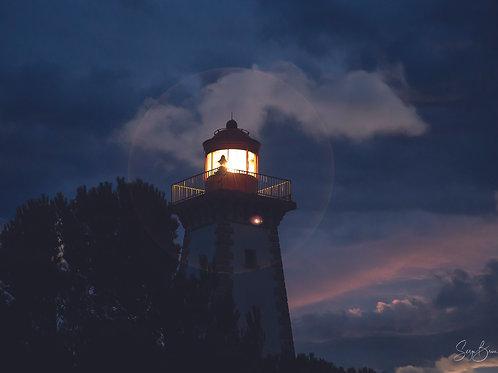 Lumière dans la nuit, Phare de Leucate