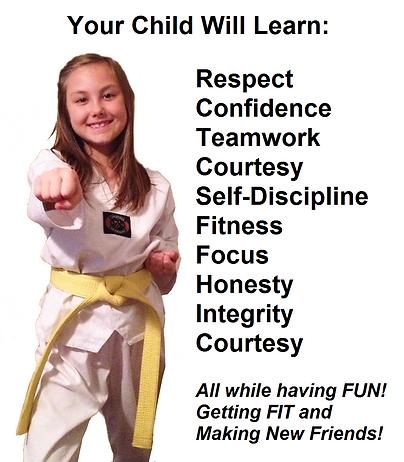 martial arts teaches respect