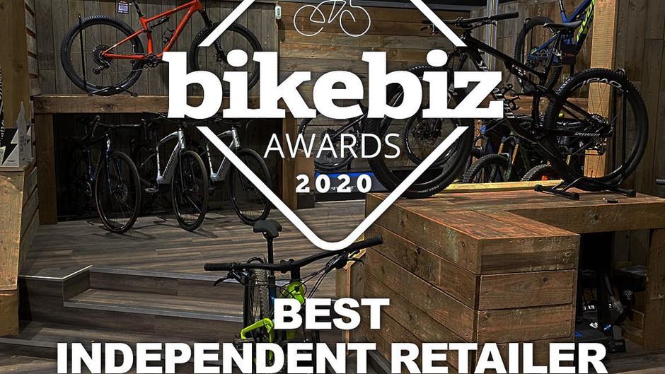 We've been nominated for Bike Biz's Best Independent Retailer!