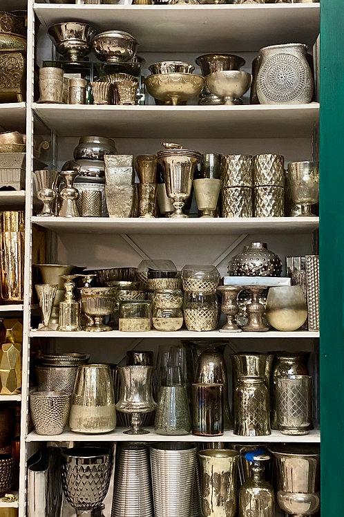 Silver Vases