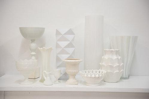 White Glass and Ceramic