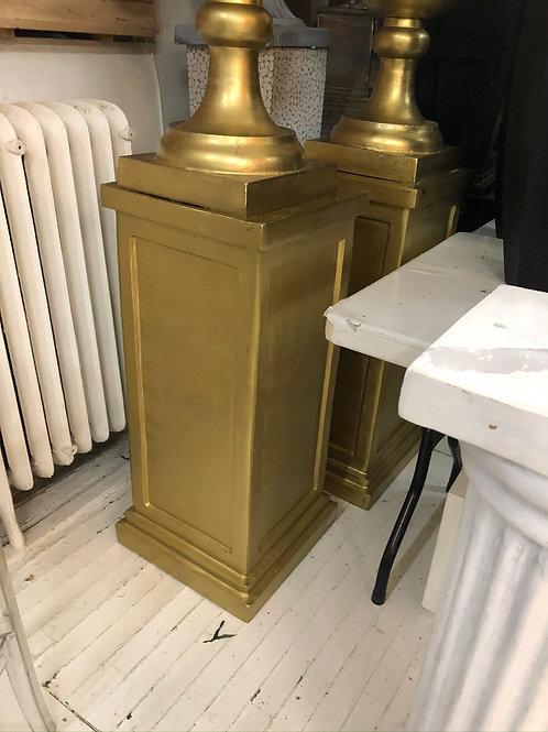 Gold Pedestals