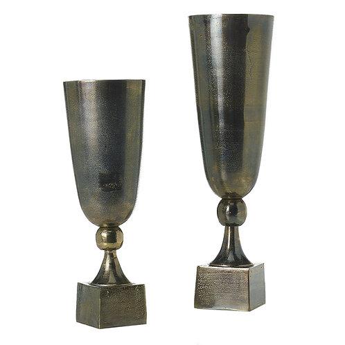 Silver Vases urns