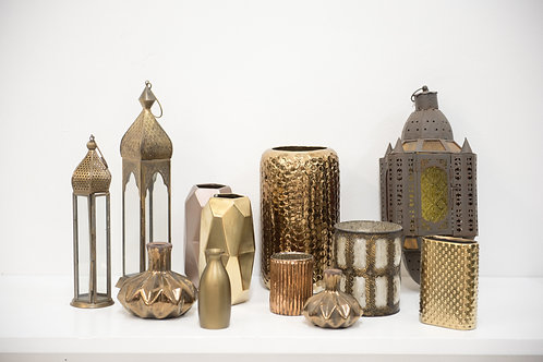Moroccan Vases and Lantrens