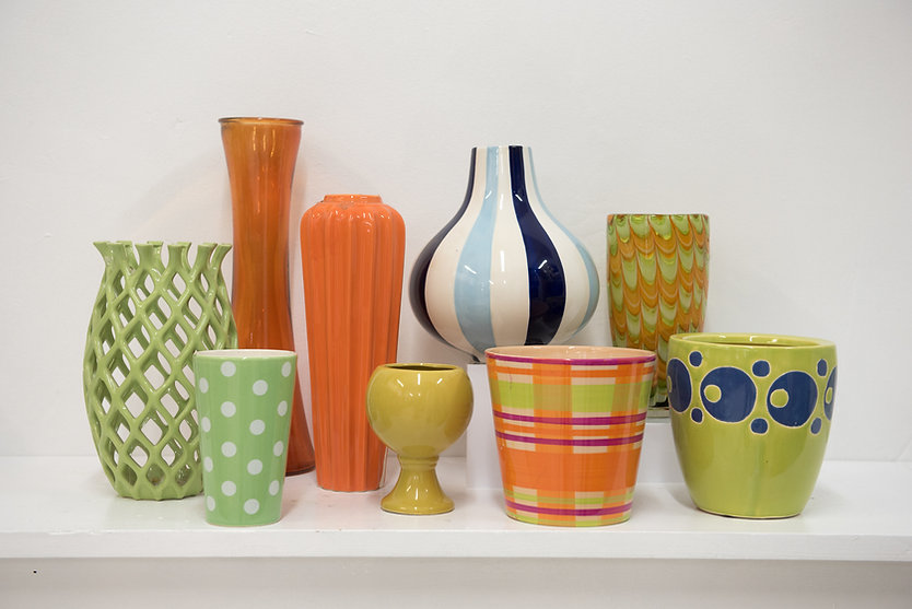 Aisling Flowers vases for rent
