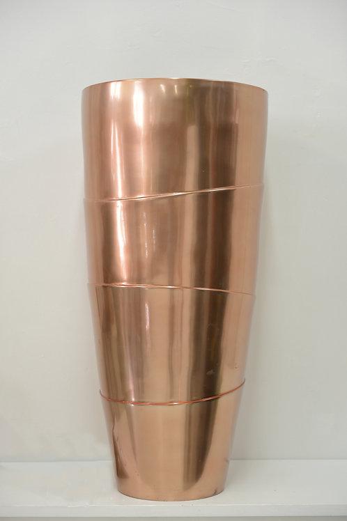 Copper floor Vase