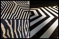 Décoration d'intérieur -Zebra Square