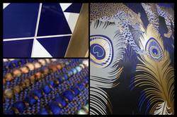 Décoration d'intérieur - Bleu Panthe
