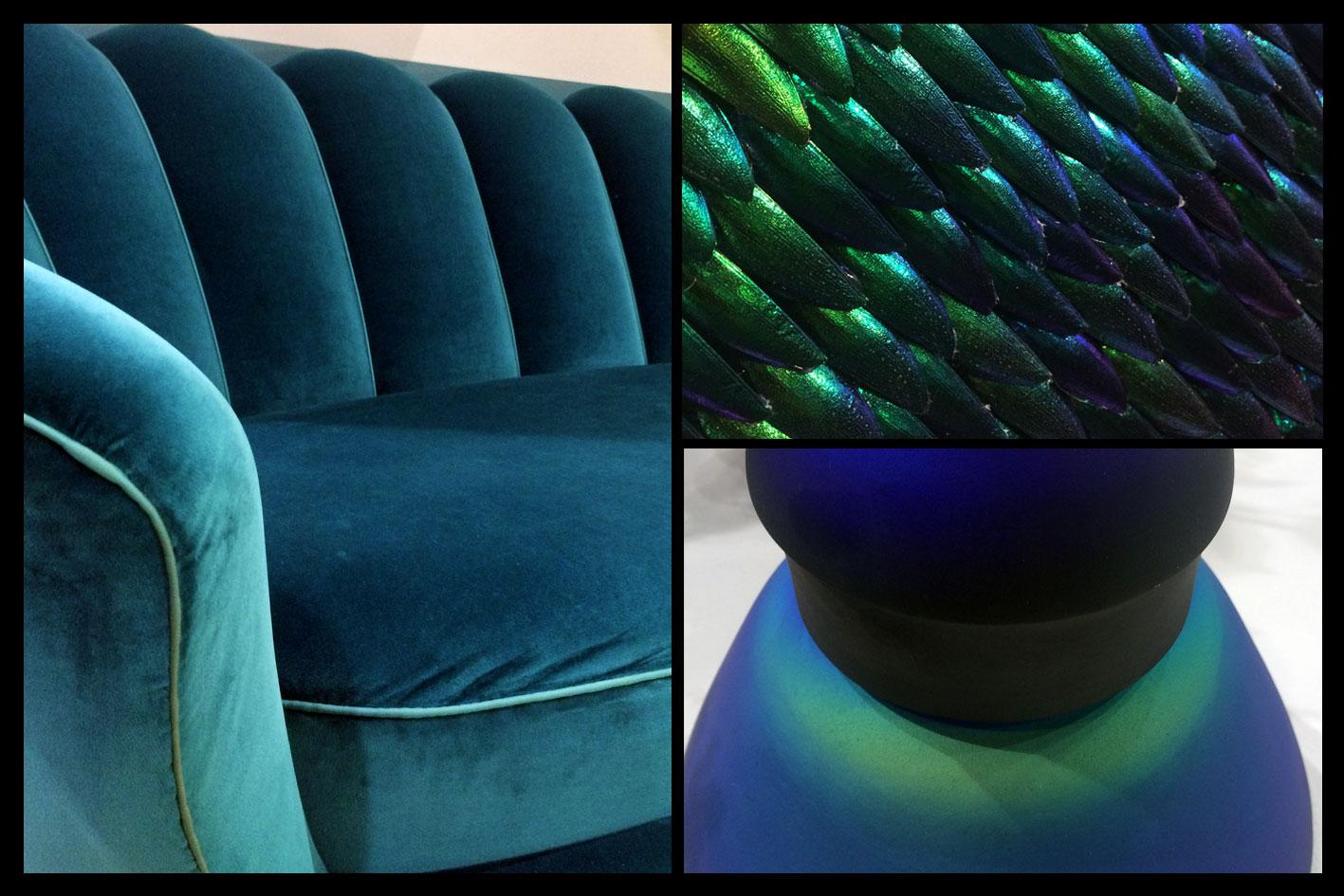 Décoration intérieur - Iris Blue