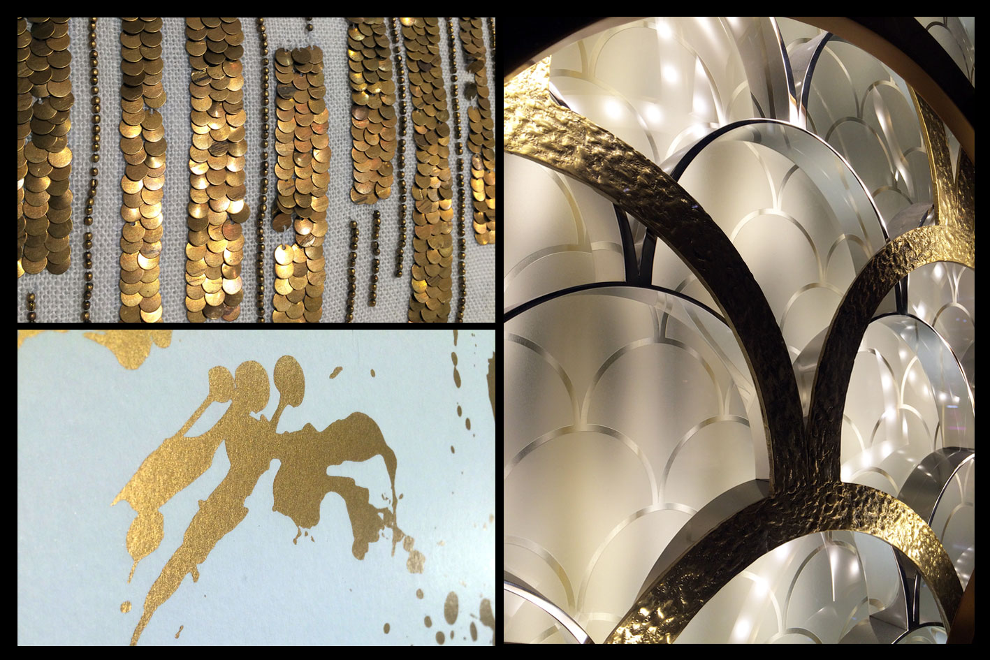 Décoration intérieur Golden pattern