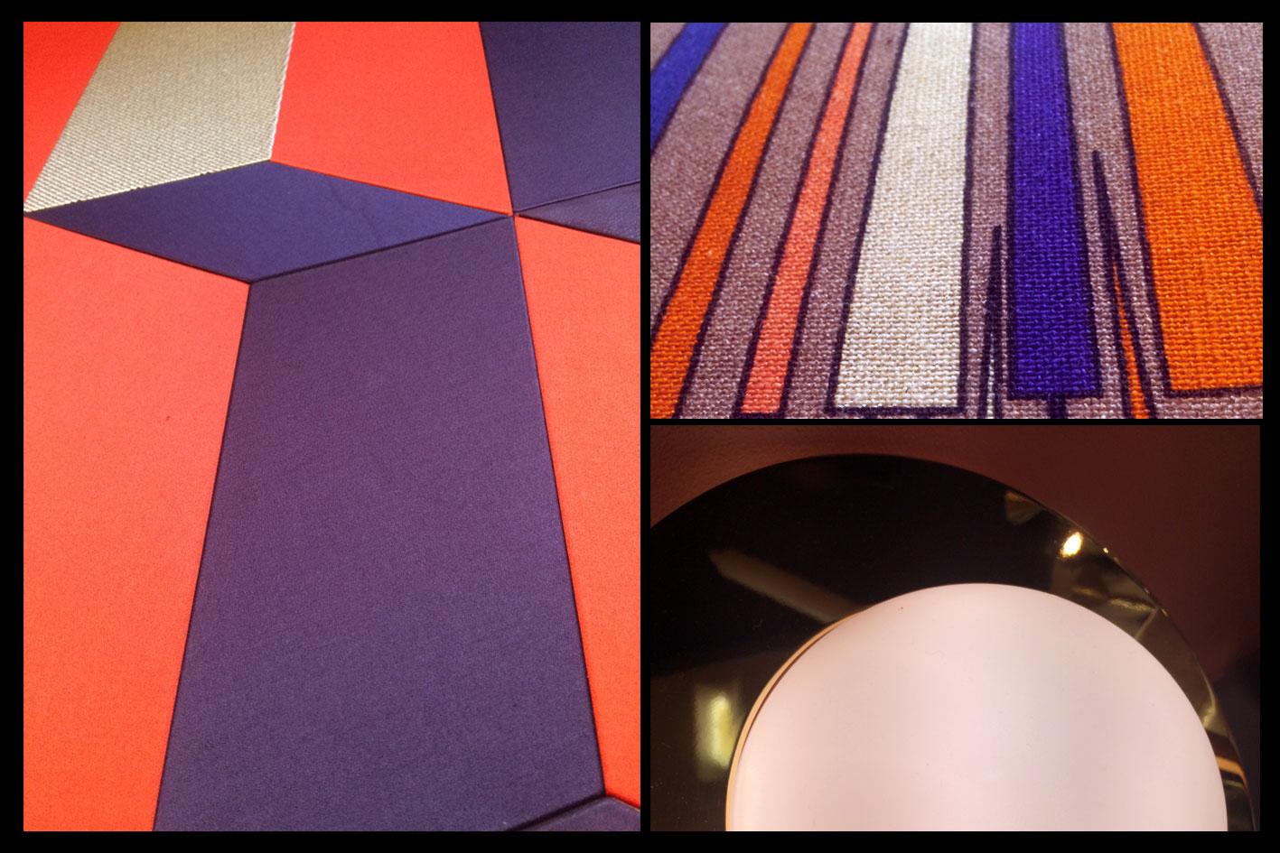 Décoration d'intérieur- Indigo & Red