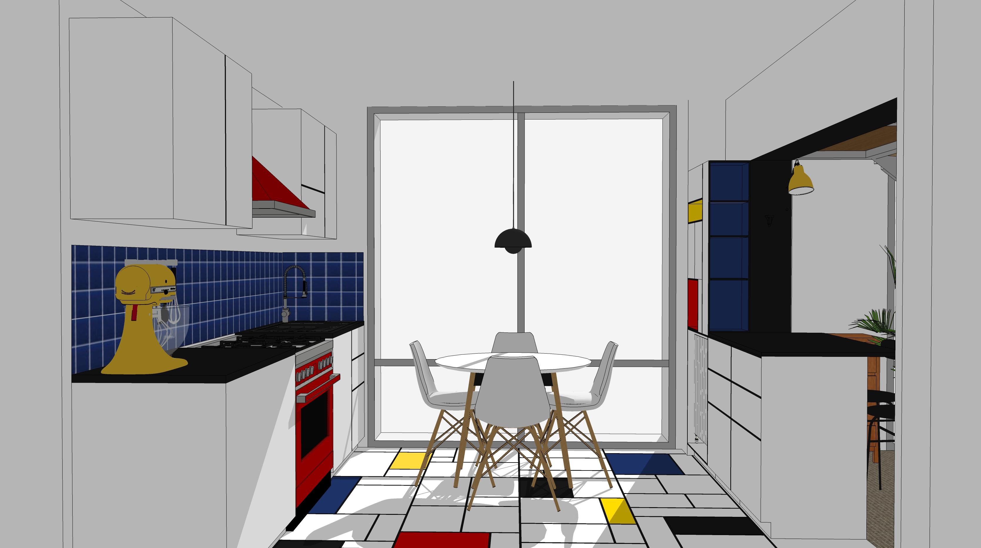 Cuisine Mondrian