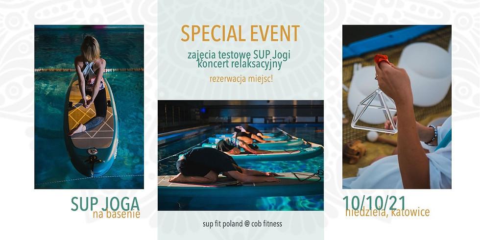 Sup Joga na basenie + koncert Relaksacyjny 09/10/21
