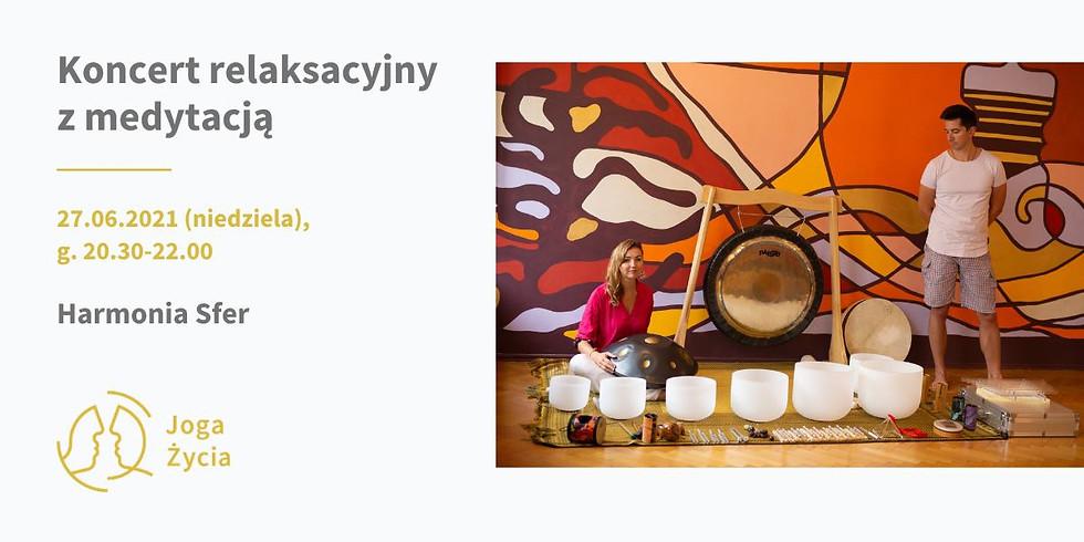 Koncert relaksacyjny z medytacją KATOWICE