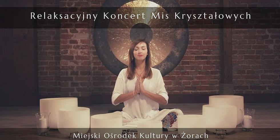 Relaksacyjny koncert mis kryształowych Żory 1/10/2021