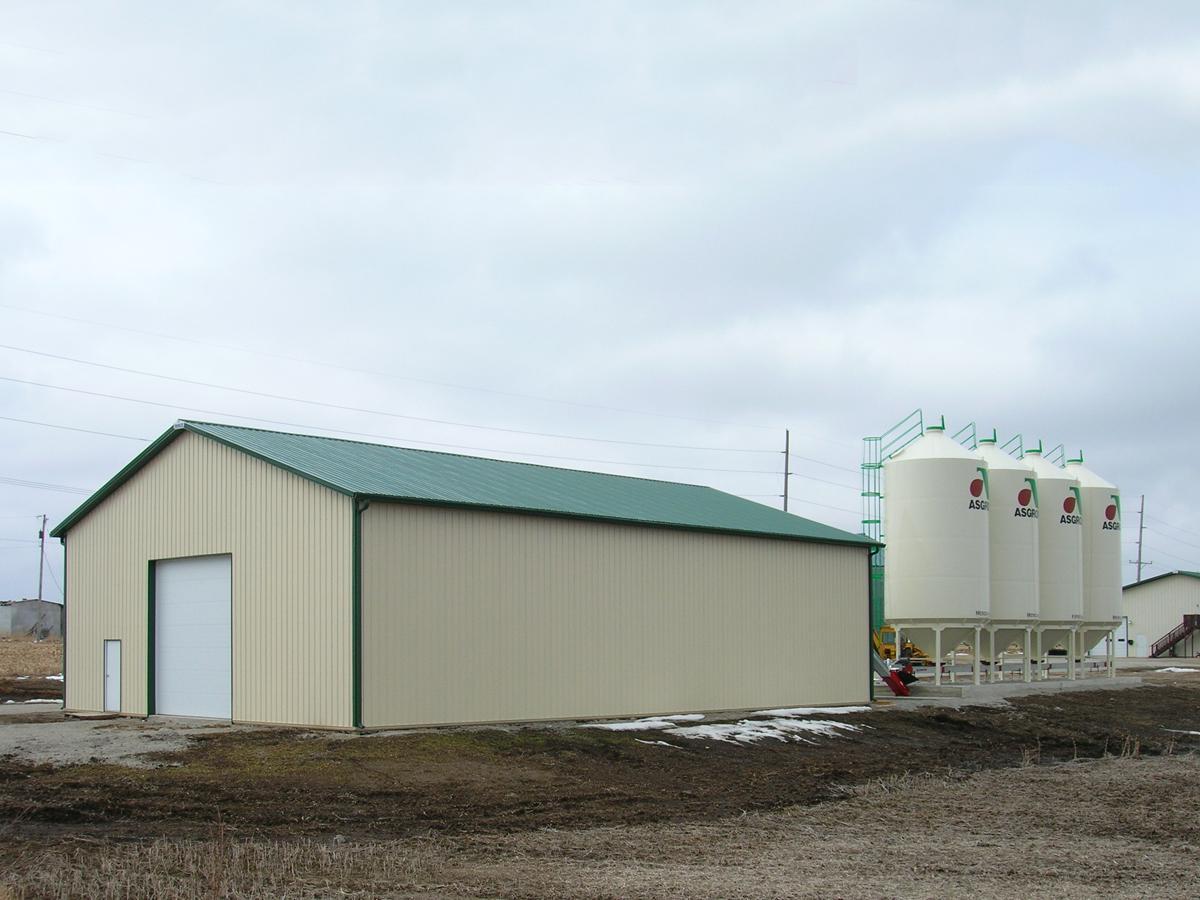steel building agricultural