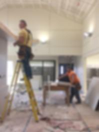 Veterinary Clinic drywall installation