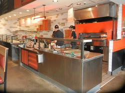 Blaze Pizza interior