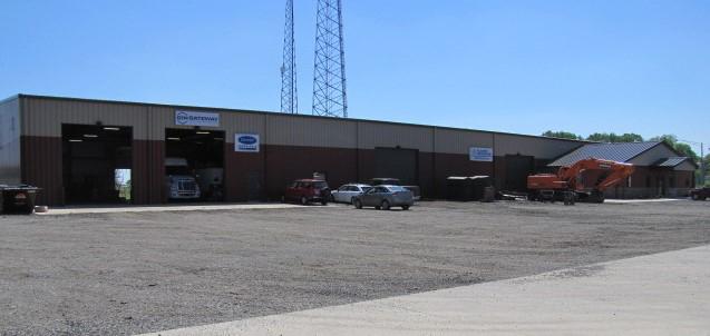 steel building exterior
