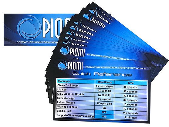 PIOMI Quick Reference Guides (Package of 50)