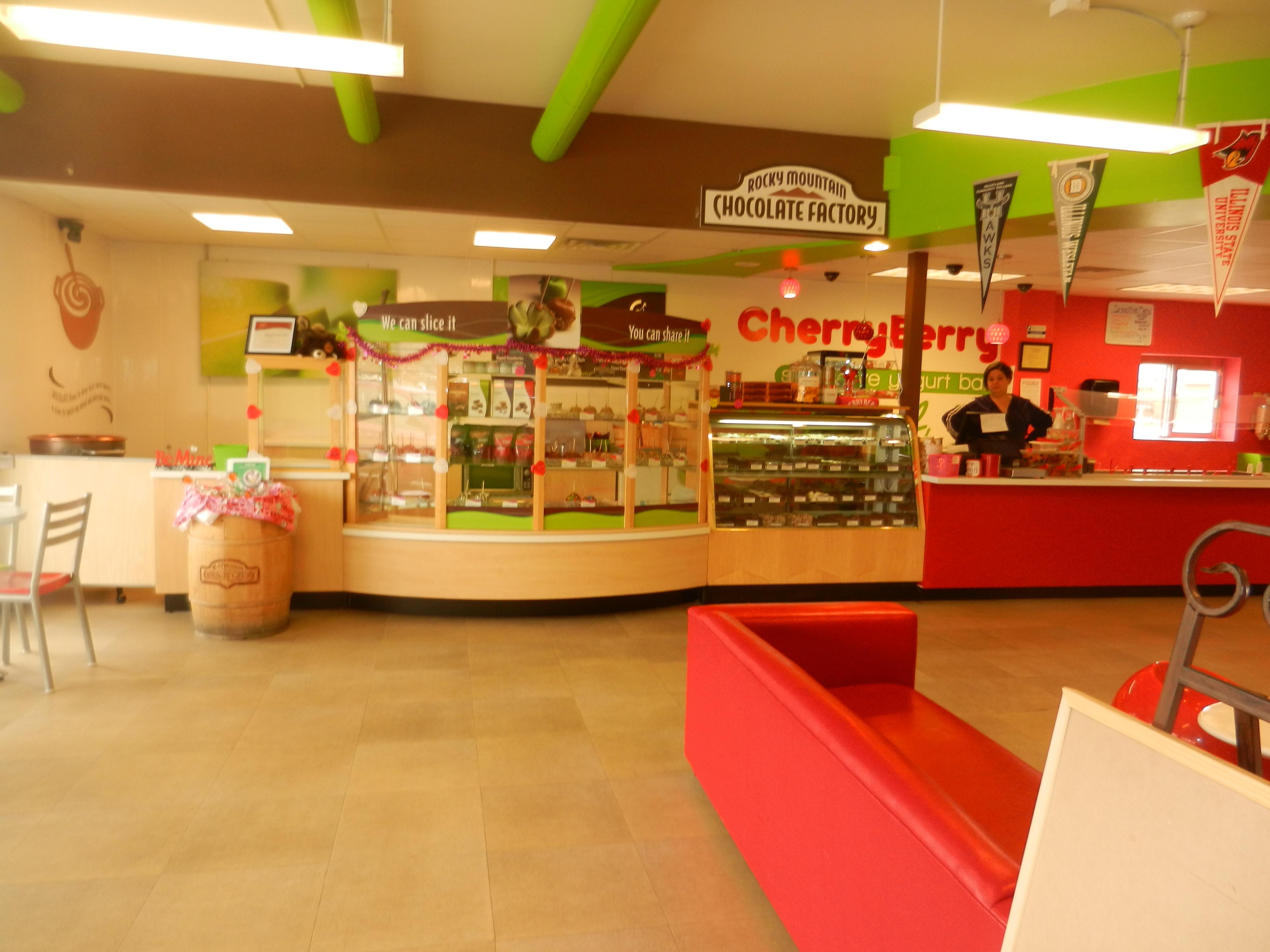 Cherry Berry interior finish