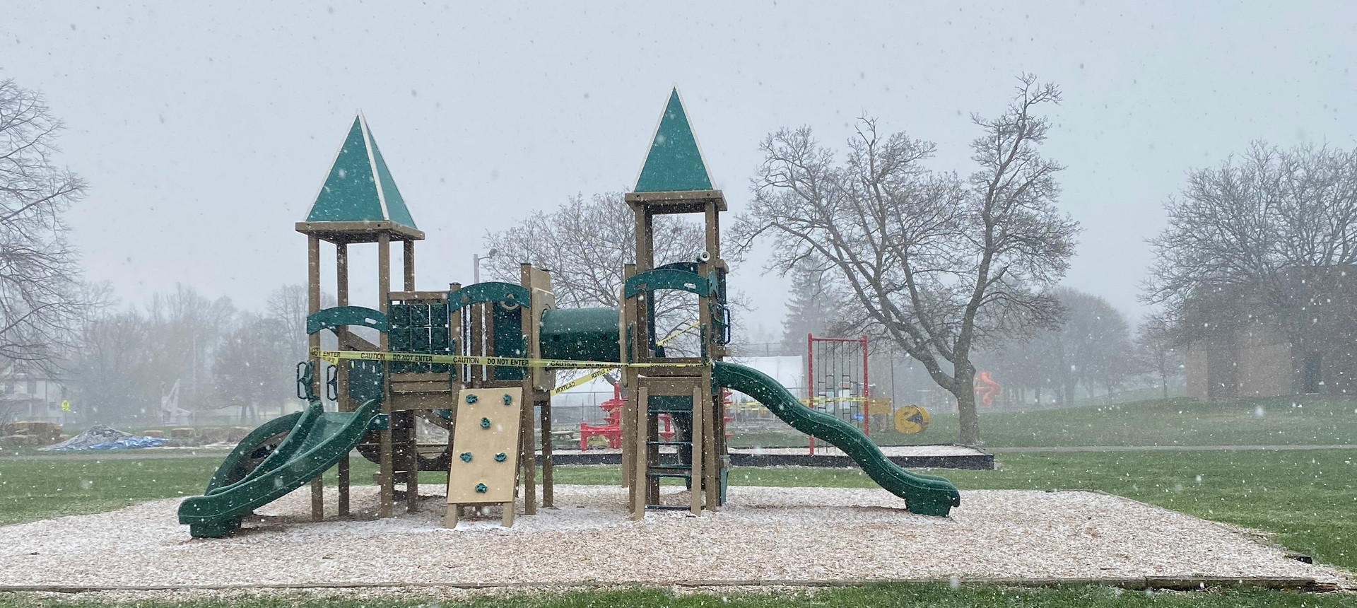 COVID-19 Clears Playgrounds