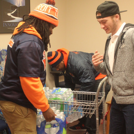 Olivet students' continued efforts to help Flint