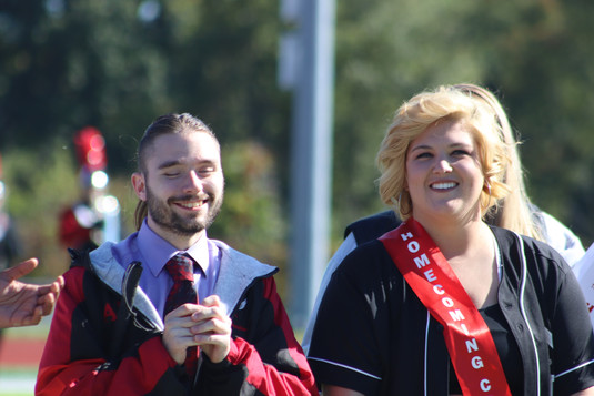 Homecoming King and Queen