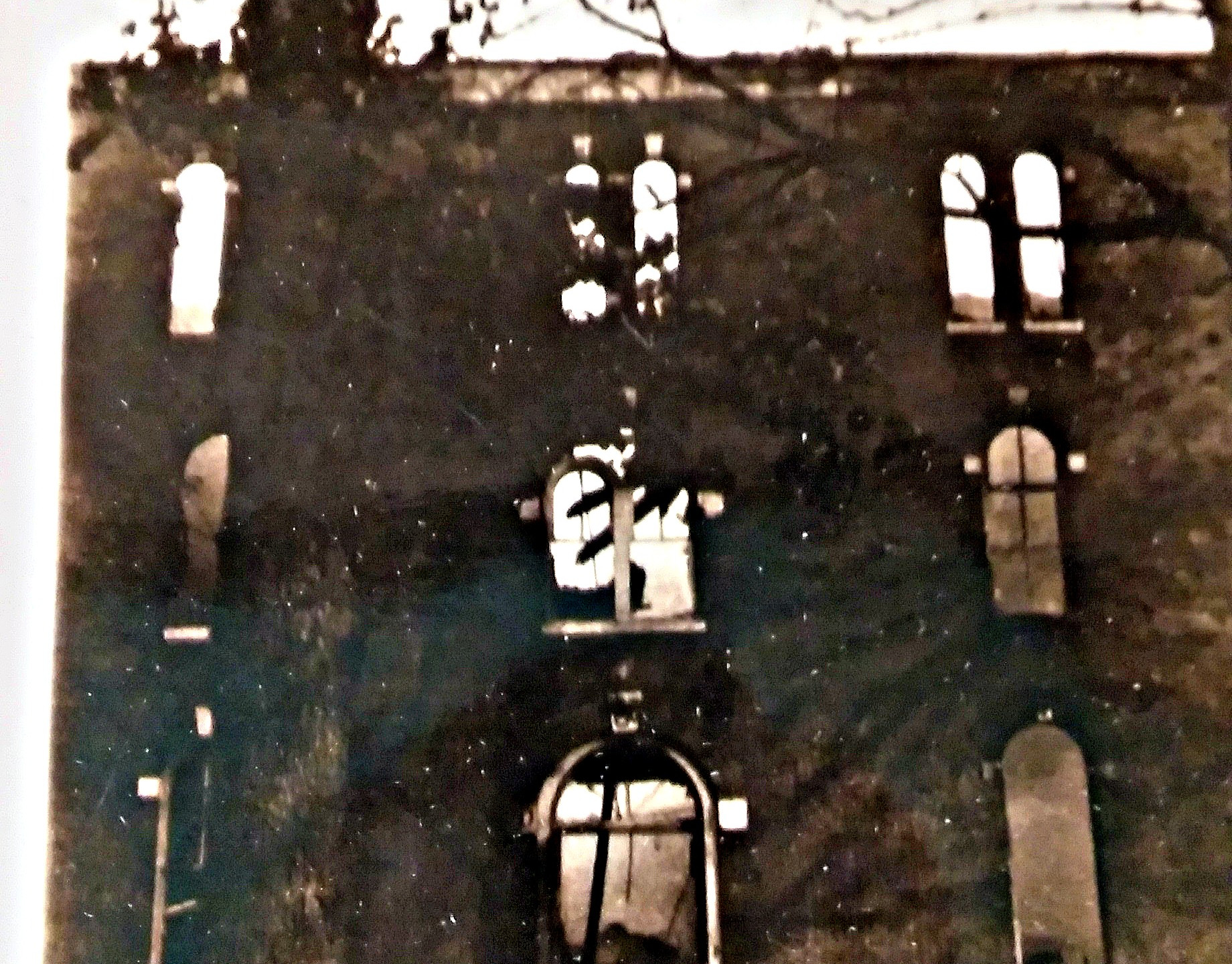 Parsons Hall burned on Feb. 28, 1928. What was once a dormitory, Parsons Hall was reduced to ash and brick./Courtesy photo