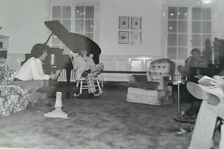 Klock Commons, Dole Hall, 1972/Courtesy Photo