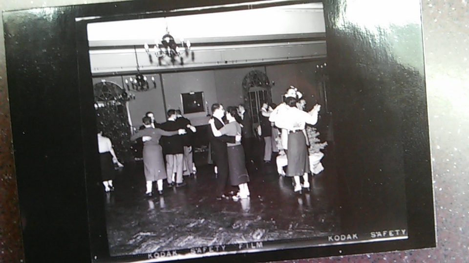 Student Dance in Klock Commons, early 1950s/Courtesy Photo