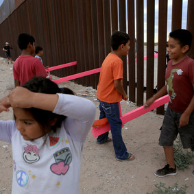 Art Piece on the U.S.-Mexico Border Wins Prestigious Award