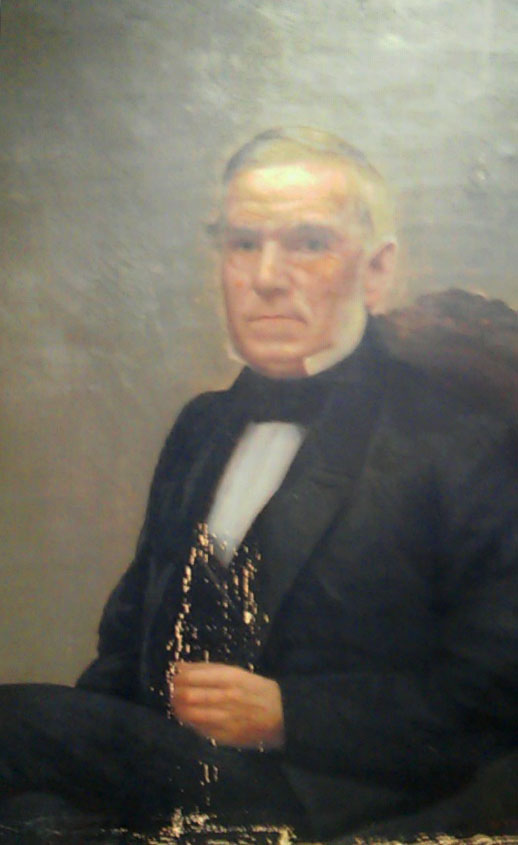 Captain Burrage was the main benefactor of the library, donating $20,000.