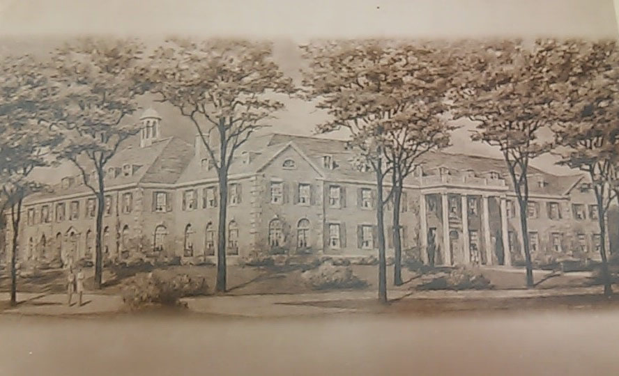 Artist Rendering of Dole Hall 1930-31/Courtesy Photo