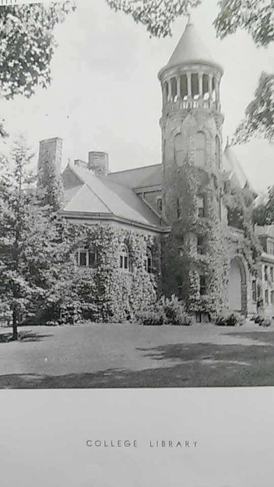 Burrage Library as it was seen in 1932.