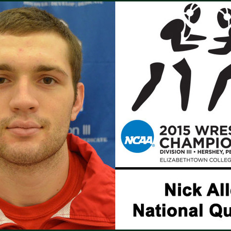 Nick Allen 'stuck to it' , made it to NCAA championships