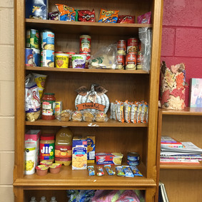 Comet's Cupboard Food Pantry Brings Food to Students in Need