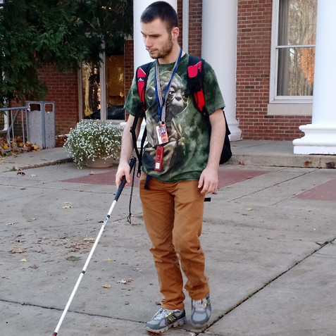 Student Humphrey 'urges' more focus on issues pertaining to people with disabilities